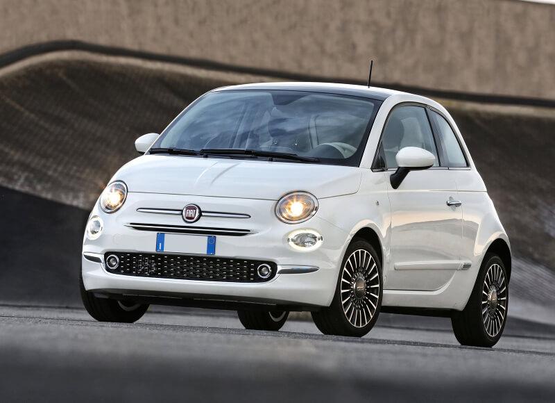 Fiat 500 Convertible Auto